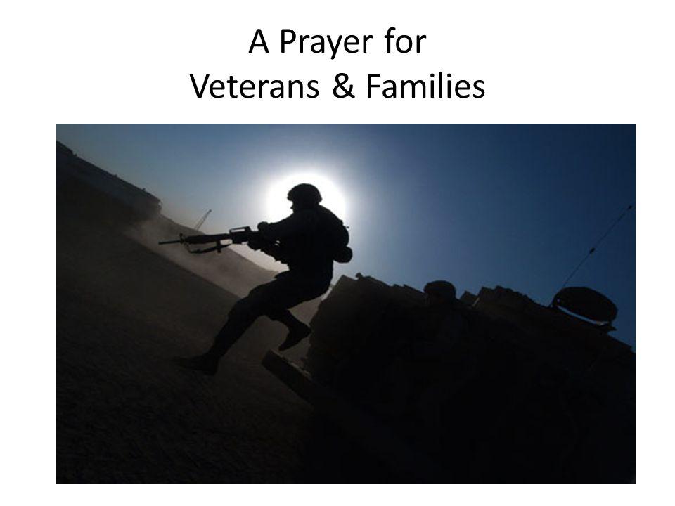 A Prayer for Veterans & Families