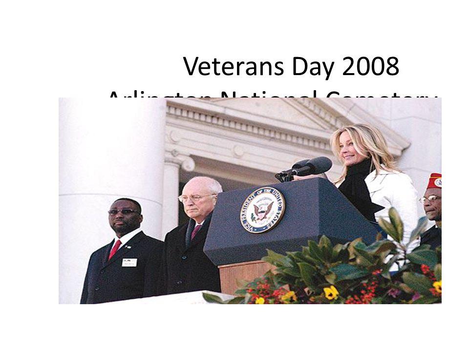 Veterans Day 2008 Arlington National Cemetery