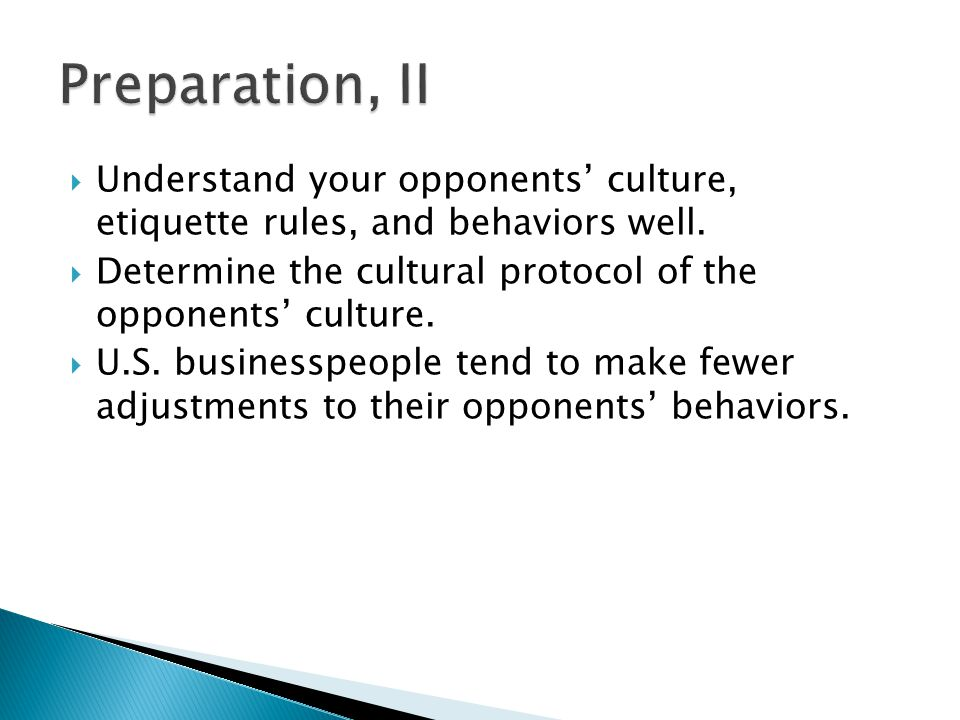  Define negotiation objective. Prioritize objectives/issues.