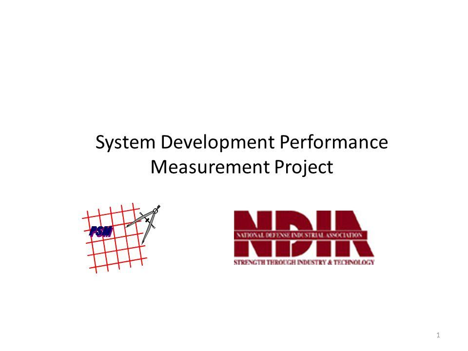 System Development Performance Measurement Project 1