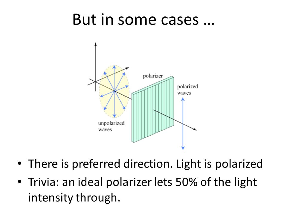 Polarization is common in nature