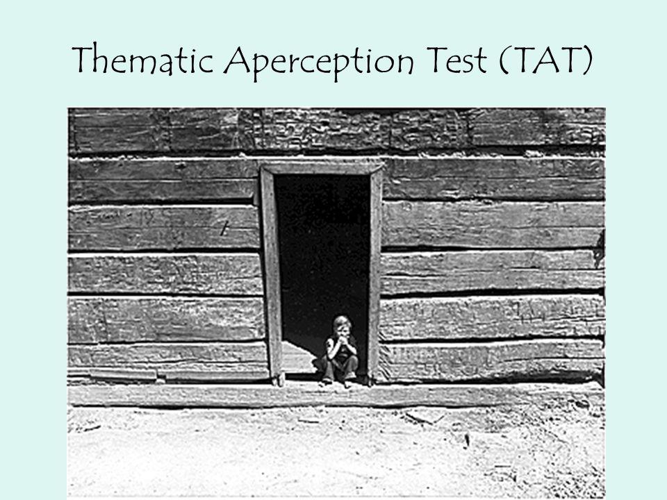 Thematic Aperception Test (TAT)