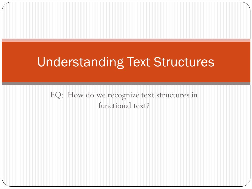 Text Structure: Compare/Contrast How do I use a matrix to compare two or more items?