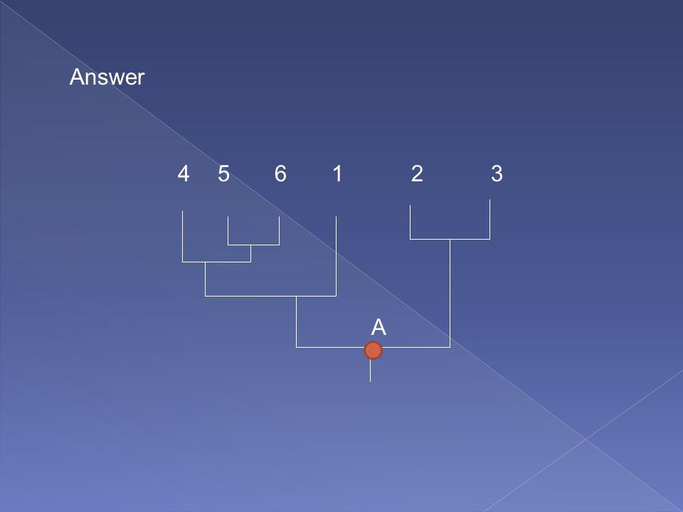 A 231456 Answer