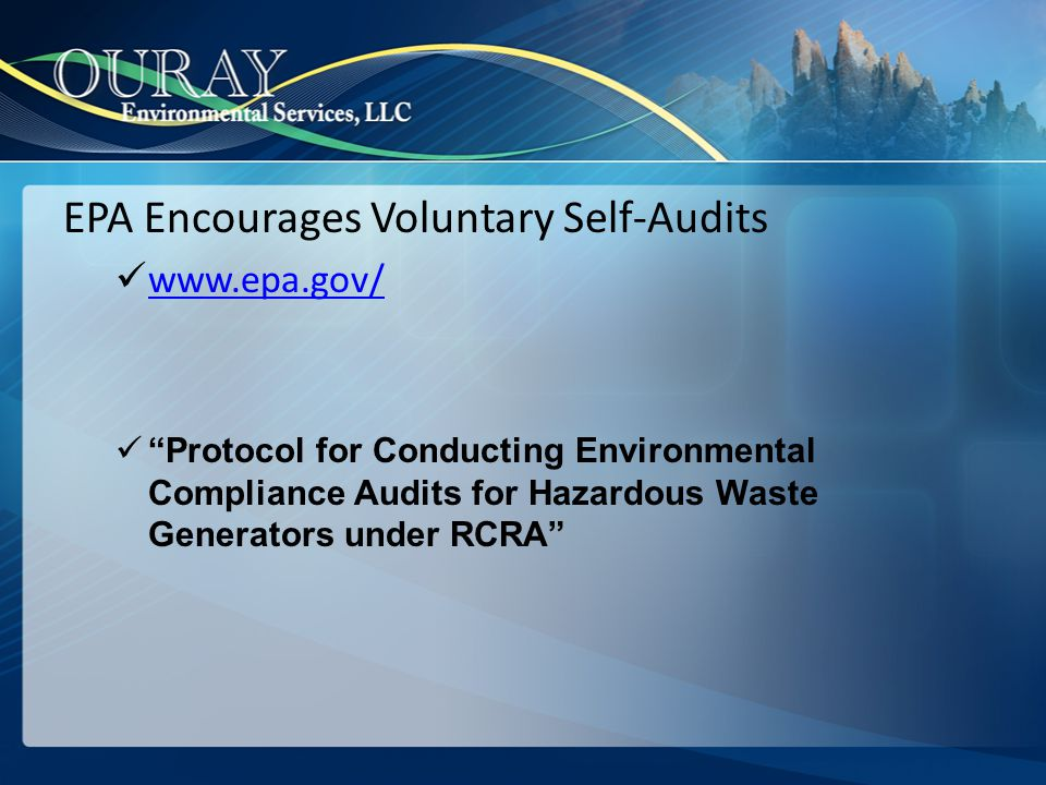 RCRA (40 CFR 264/265)OSHA (40 CFR 1910.120)Comment Train waste management personnel Complete classroom or OJT; Train personnel to respond to emergencies.