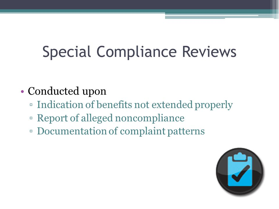 Noncompliance Definition A factual finding that any civil rights requirement, as provided by law, regulation, policy, instruction, or guidelines, is not being adhered to by a State agency, local agency, or other sub-recipient.