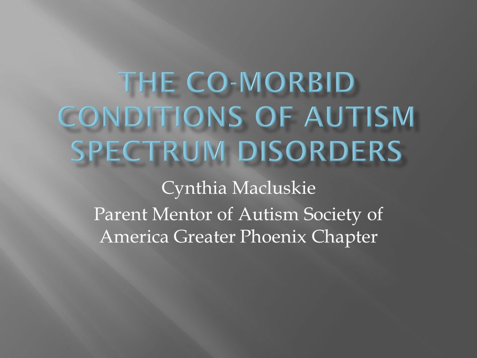 Cynthia Macluskie Parent Mentor of Autism Society of America Greater Phoenix Chapter