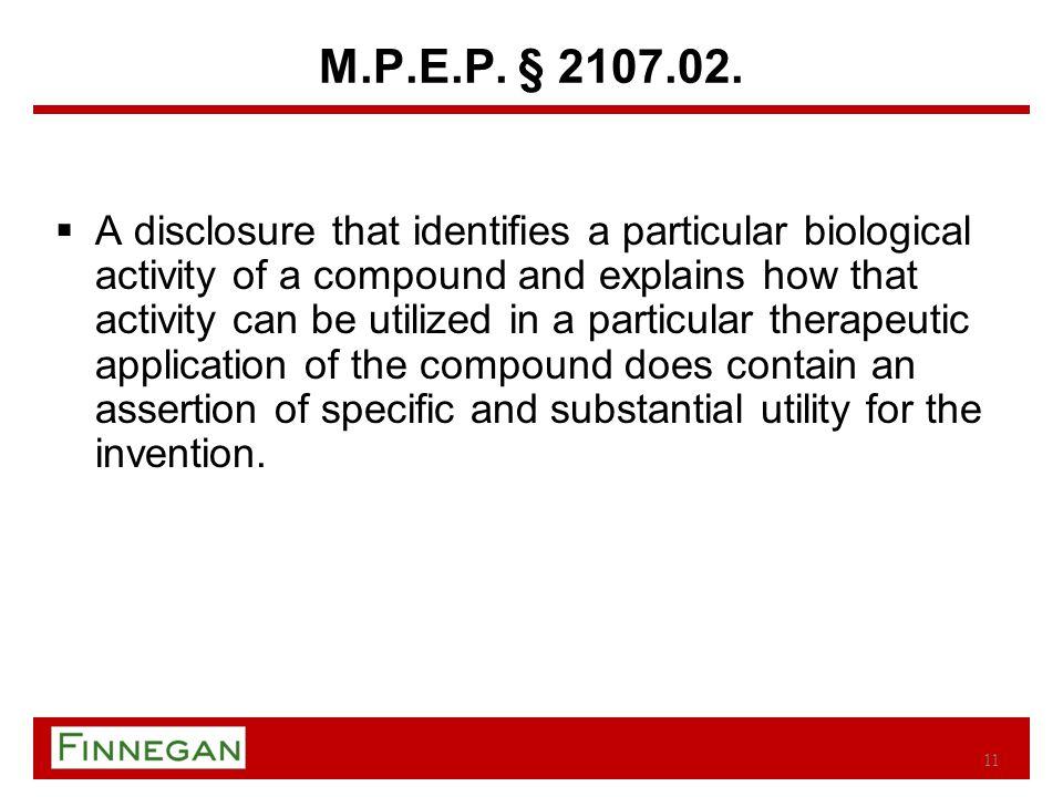 M.P.E.P. § 2107.02.