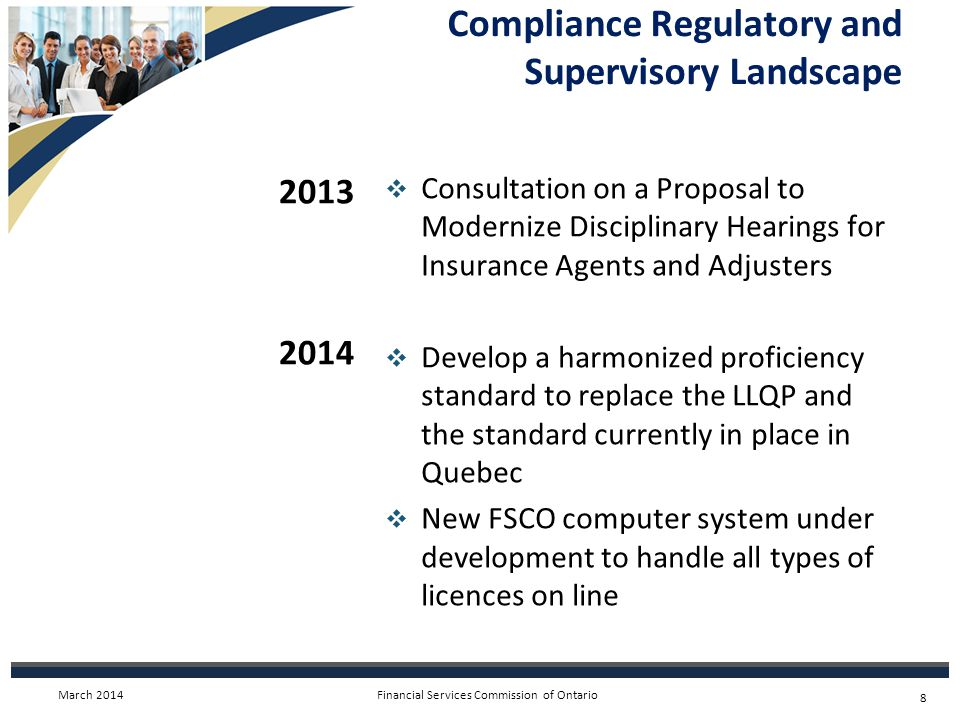 Financial Services Commission of Ontario Consumer Complaint Handling System  Consumers have come to rely on a high level of complaint handling and dispute resolution service from the Industry First Response framework.