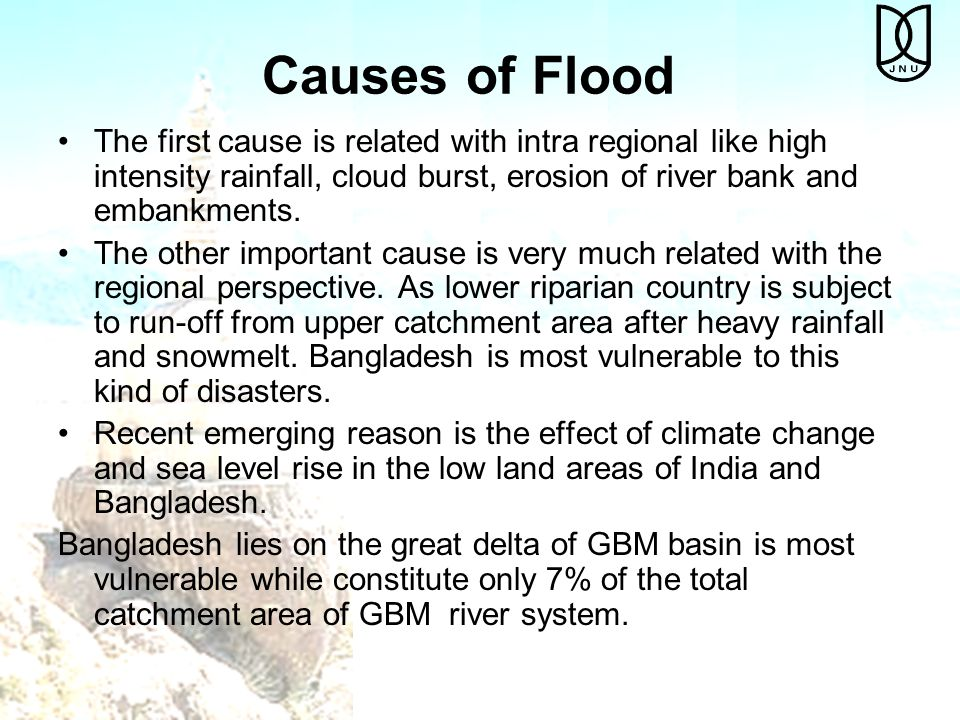Catchment areas of the GBM River Systems