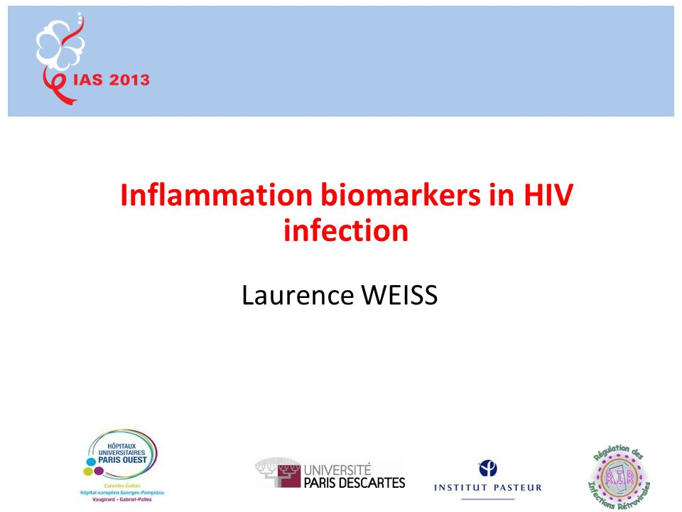Summary Levels of immune activation (T-cell activation and inflammation) predict HIV disease progression in untreated patients with primary and chronic infection Soluble biomarkers of inflammation and coagulation, but not T-cell activation, predict non-AIDS defining events during suppressive ART Unresolved issues Value of these biomarkers to improve CV risk prediction in the HIV-infected population .