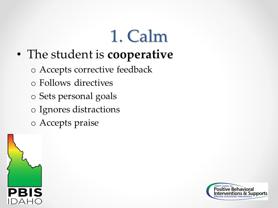 Responding to Escalating Problem Behavior Activity: Read the vignette and respond to the questions.