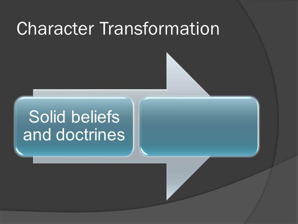 Character Transformation
