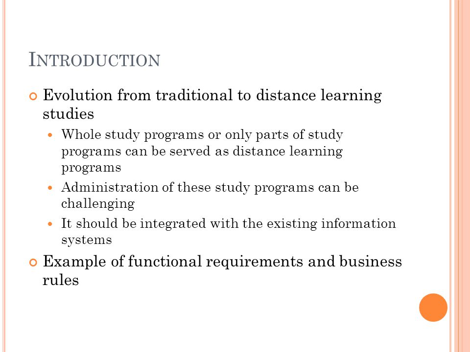 B USINESS RULES Study programs and subjects (…continued) Subjects are defined in the scope of the faculty (university) with their unified codes for all study programs A subject has only one scientific area, unique code, same class funds and credits for all study programs, professors, language etc… The system should provide information about representations of the scientific area in a study program (%, number of credits, number of subjects) Each student can belong to multiple study groups, defined by the system administrator, according to professor's recommendation.