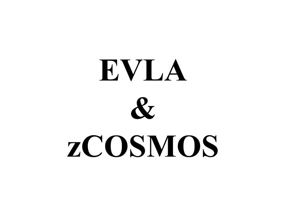 EVLA & zCOSMOS