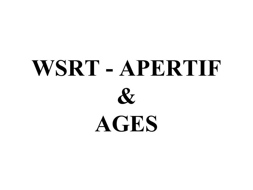 WSRT - APERTIF & AGES