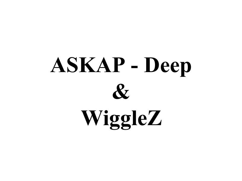 ASKAP - Deep & WiggleZ