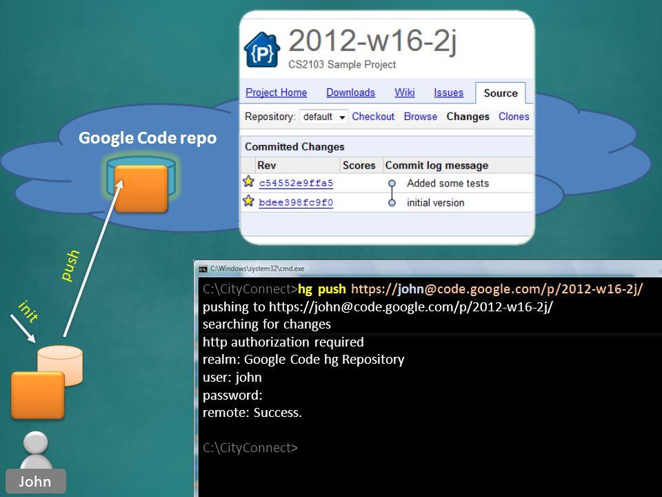 RCS Remote repo Centralized Distributed CVS SVN Hg Git Bazzar Remote repos