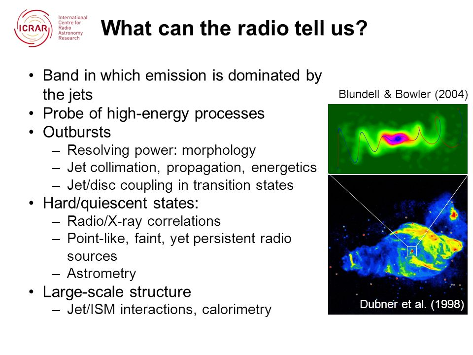 What can the radio tell us.