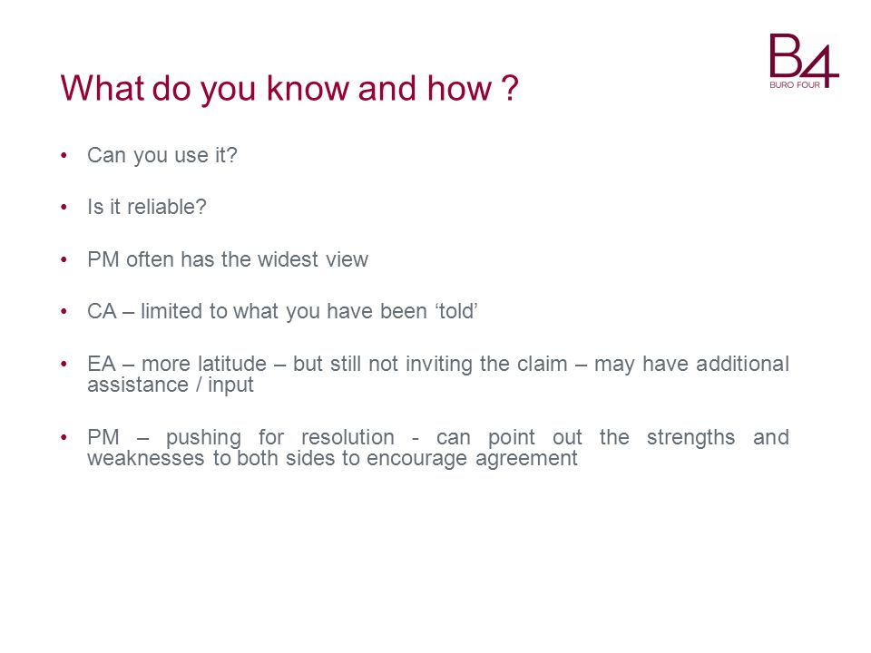What do you know and how .Can you use it. Is it reliable.