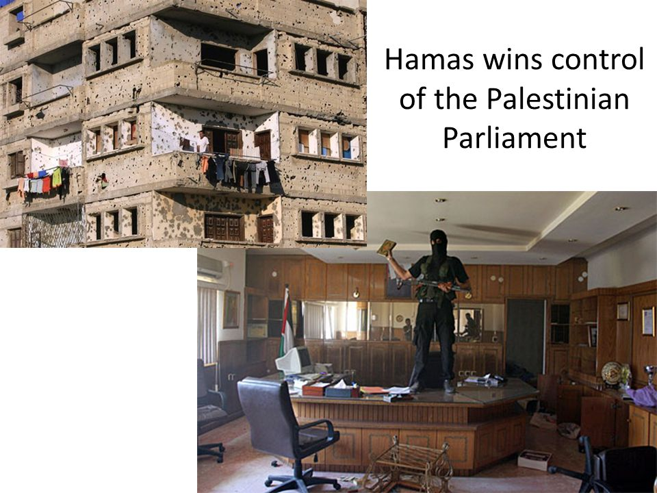 Hamas wins control of the Palestinian Parliament