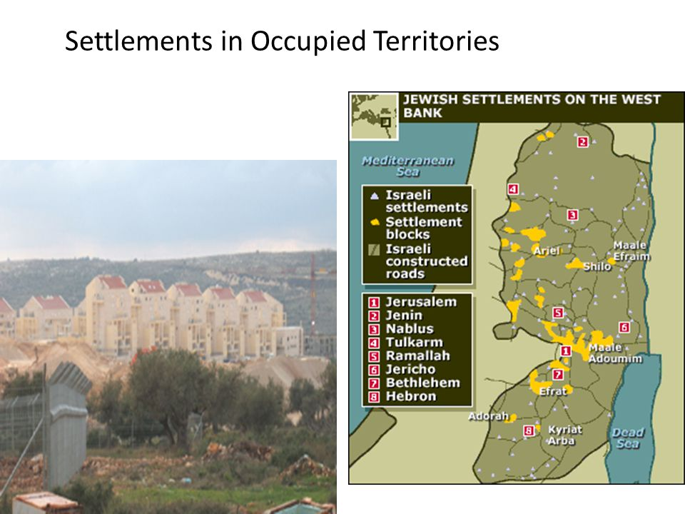 Settlements in Occupied Territories