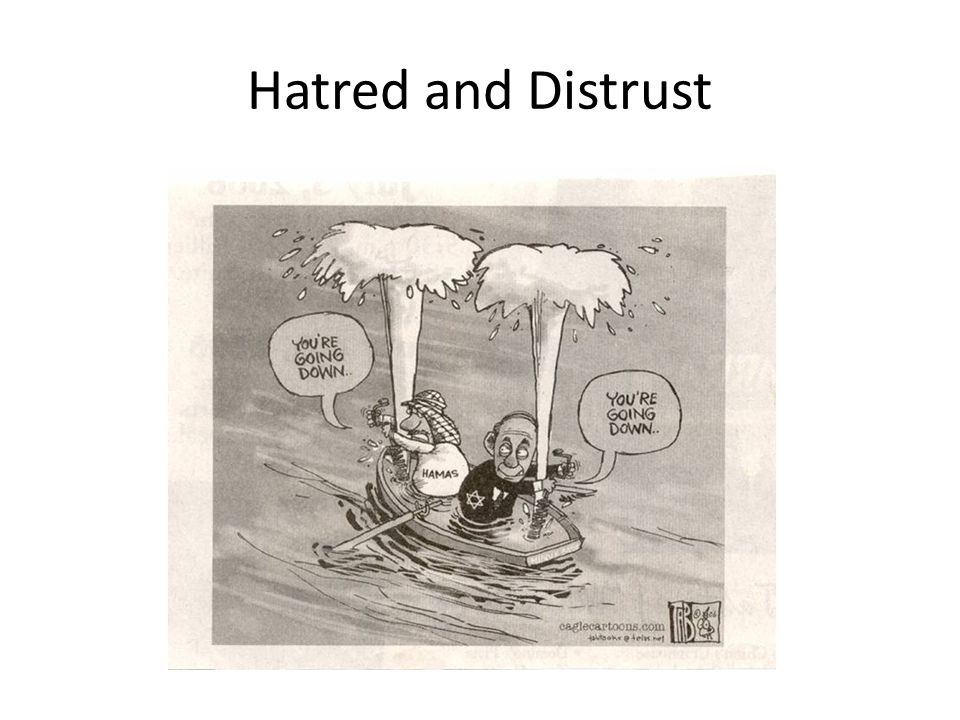 Hatred and Distrust