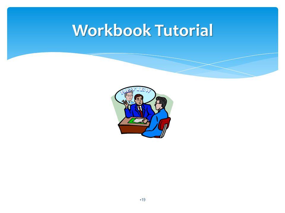 19 Workbook Tutorial