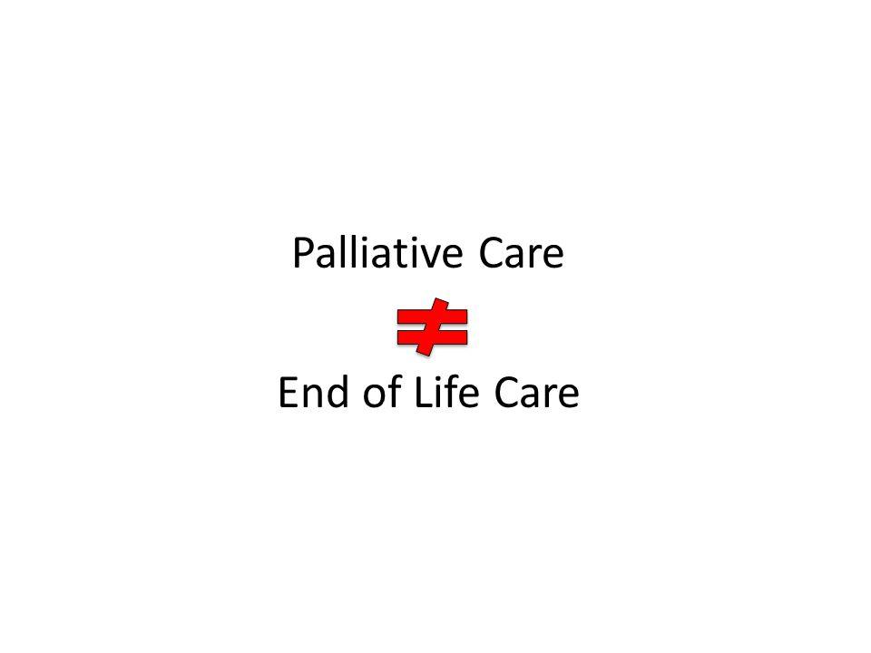 Palliative Care End of Life Care
