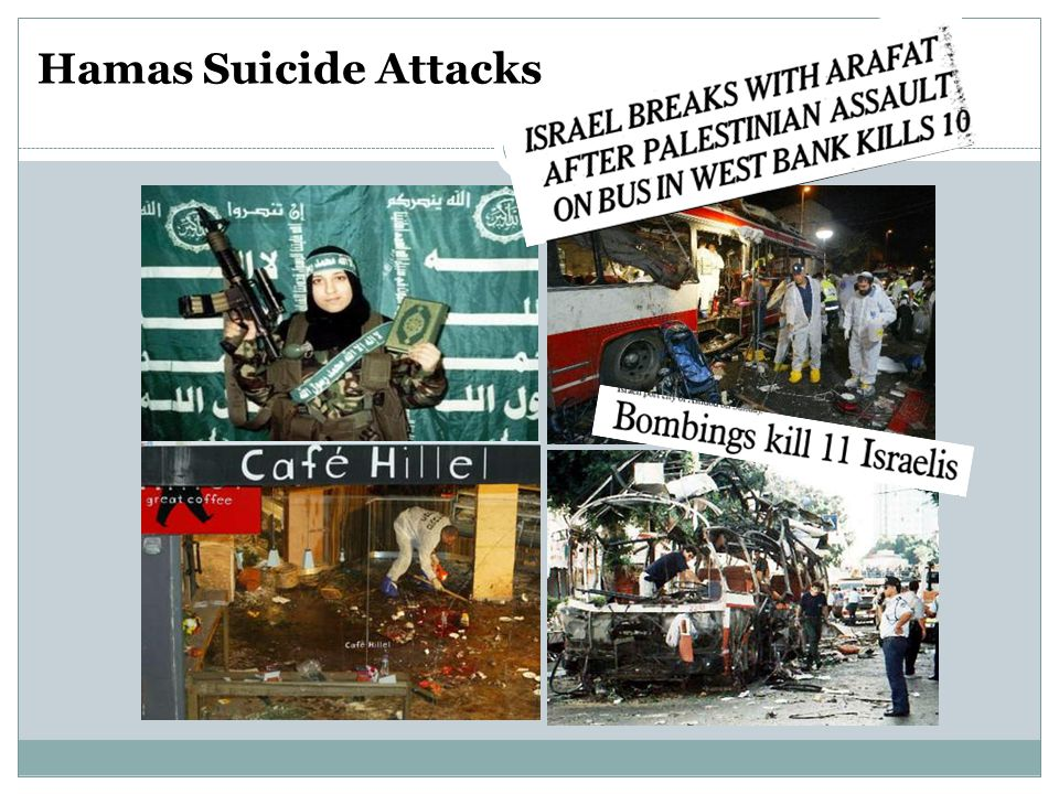 Hamas Suicide Attacks