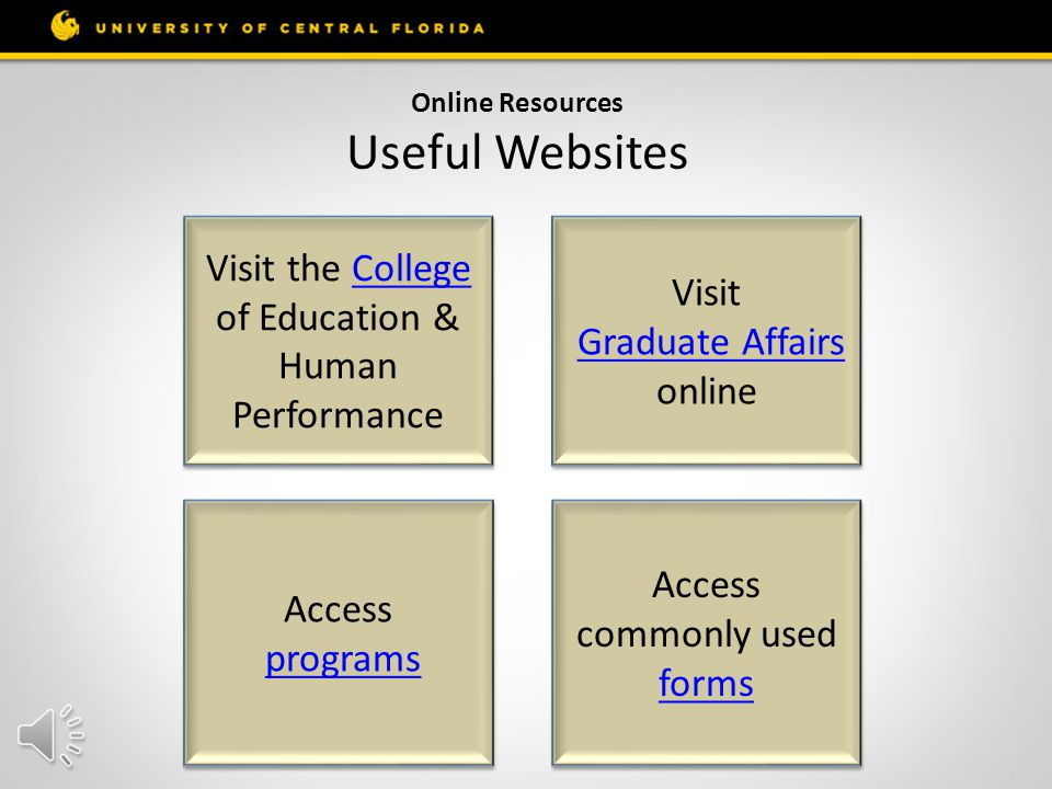 Your Online Resources