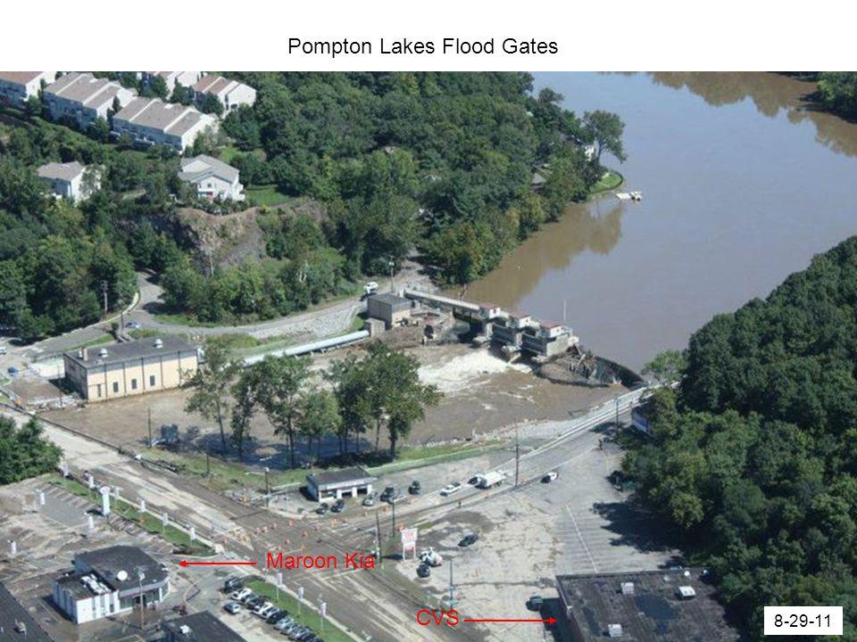 Pompton Lakes Flood Gates 8-29-11 Maroon Kia CVS