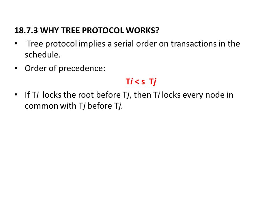 18.7.3 WHY TREE PROTOCOL WORKS.