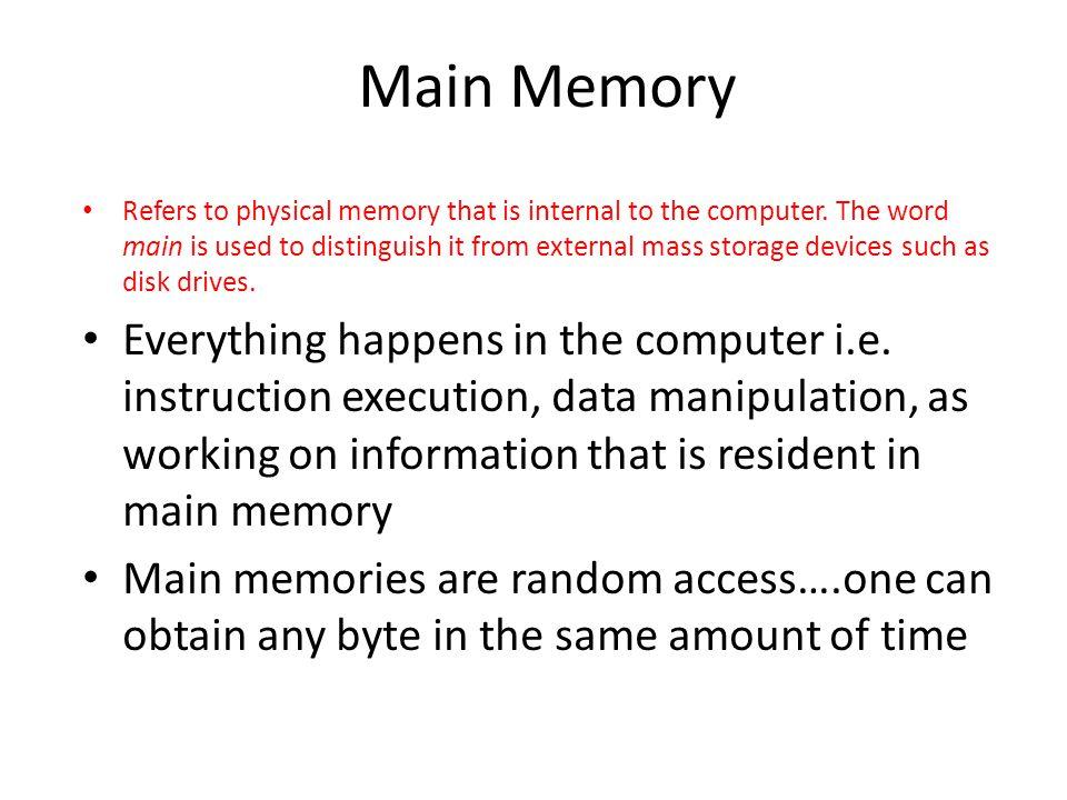 Basic idea Step 1: Read M blocks of R into main memory.
