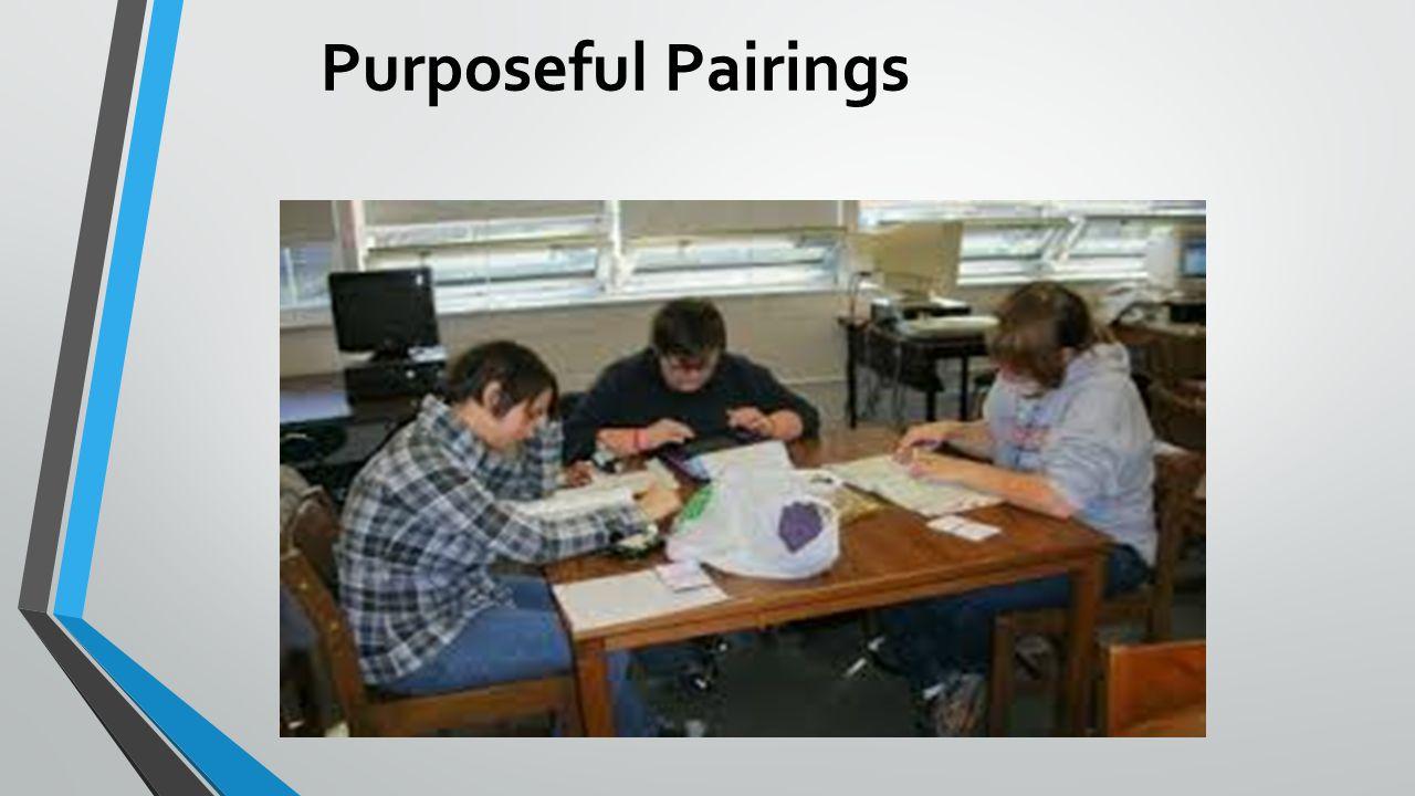 Purposeful Pairings