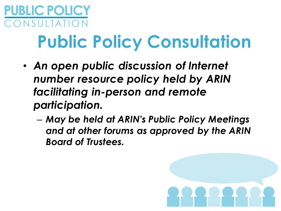 2013-6 – Work in Progress Draft policy still being developed by the AC – Posted to PPML and presented for community discussion Fair and Impartial Number Resource Administration.
