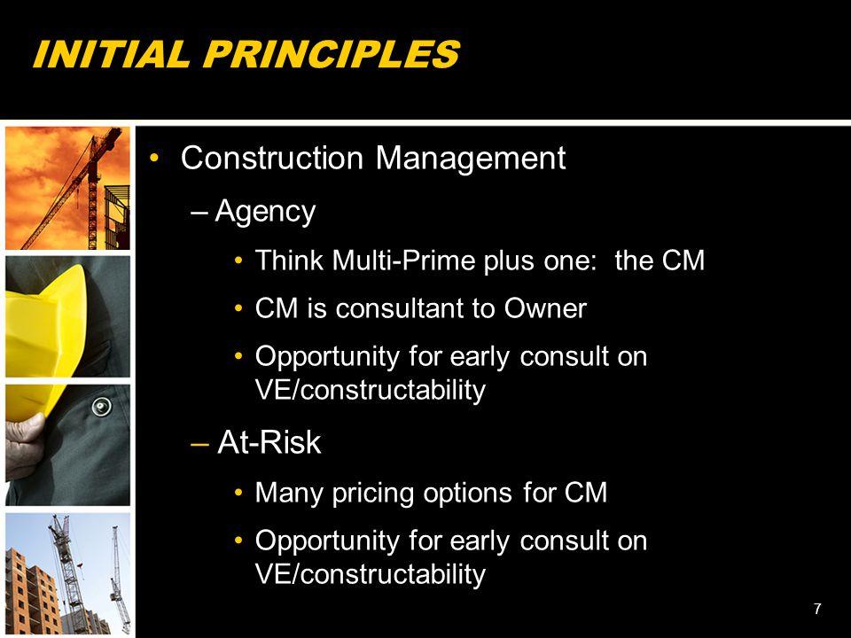 American Bar Association Forum on the Construction Industry Fall Meeting – 2012 18 CONSTRUCTION RISK ALLOCATION Joel K.