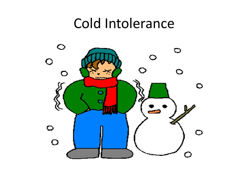 Cold Intolerance