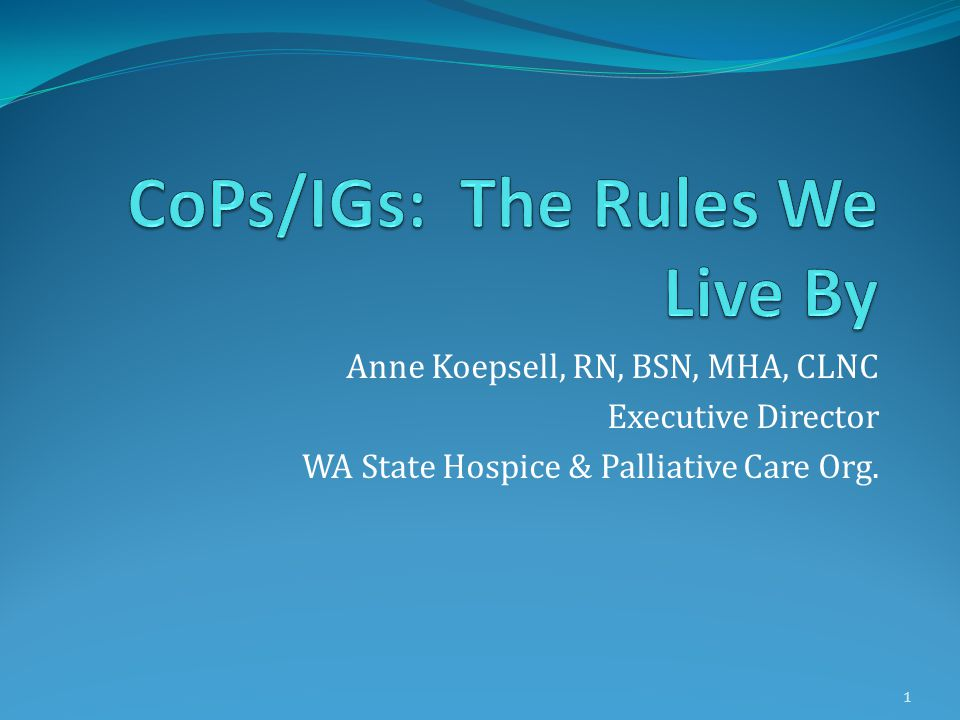 418.116 Compliance with Federal, State, and local laws and regulations related to health and safety of patients In compliance with all laws and regulations.