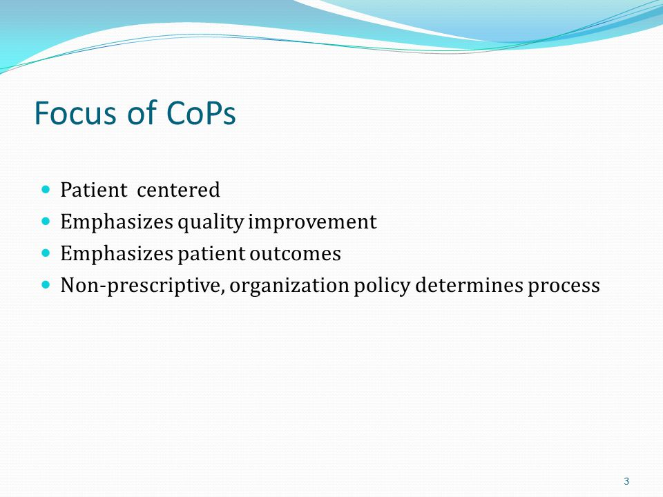 QAPI Hospice Level – The QAPI Process 104 Gather data ID areas for improvement Performance Improvement Projects (PIP) Institutionalize improvements