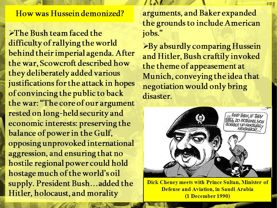  The Bush team faced the difficulty of rallying the world behind their imperial agenda.