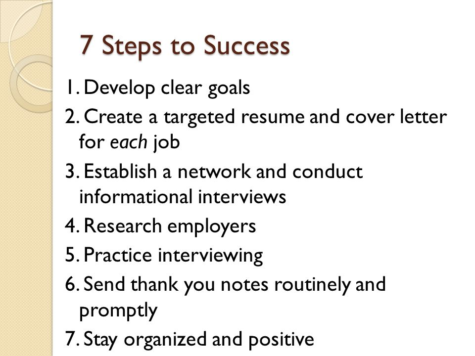 The Crucial 5 P's productive proactive positive persistent polished