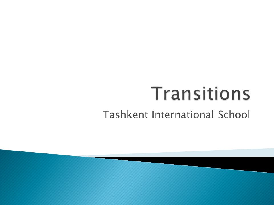 Tashkent International School