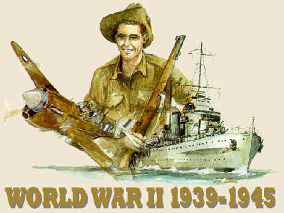 WORLD WAR II Fascism – extreme nationalism and militarism 1.
