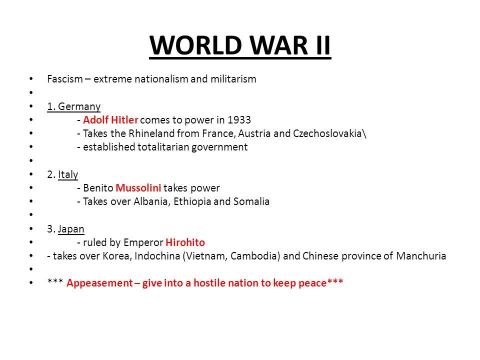 WORLD WAR II America Prepares for War 1.Neutrality Acts of 1935 & 1937 – U.S.