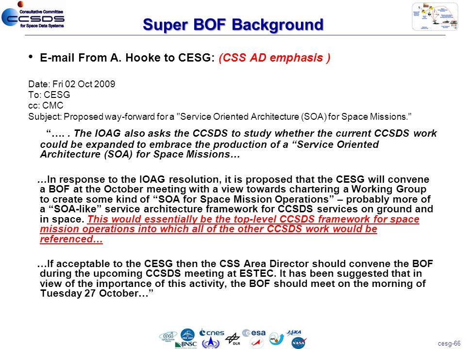 cesg-66 Super BOF Background E-mail From A.