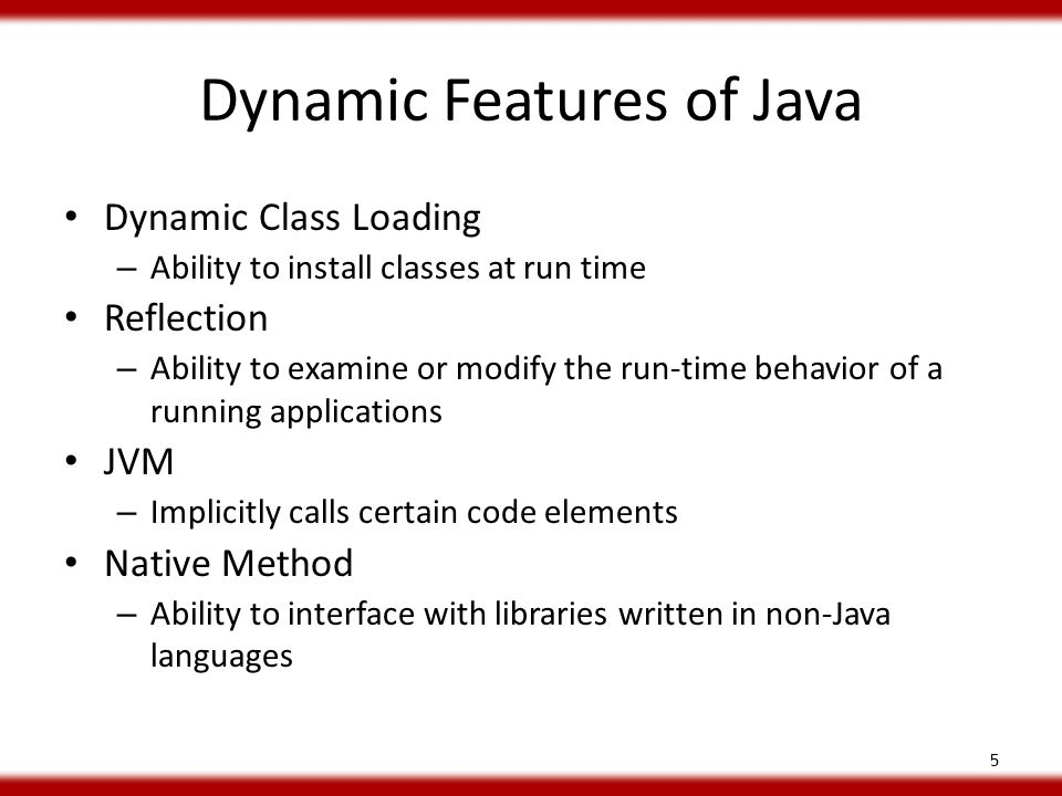 Dynamic Class Loading In Java Libraries Extended state-of-the-art string analysis for Java: Java String Analyzer (JSA) – Publicly available implementation – Semi-static extension – Precision improving extensions Investigated dynamic class loading sites in Java 1.4 standard libraries – Used by all Java applications 16
