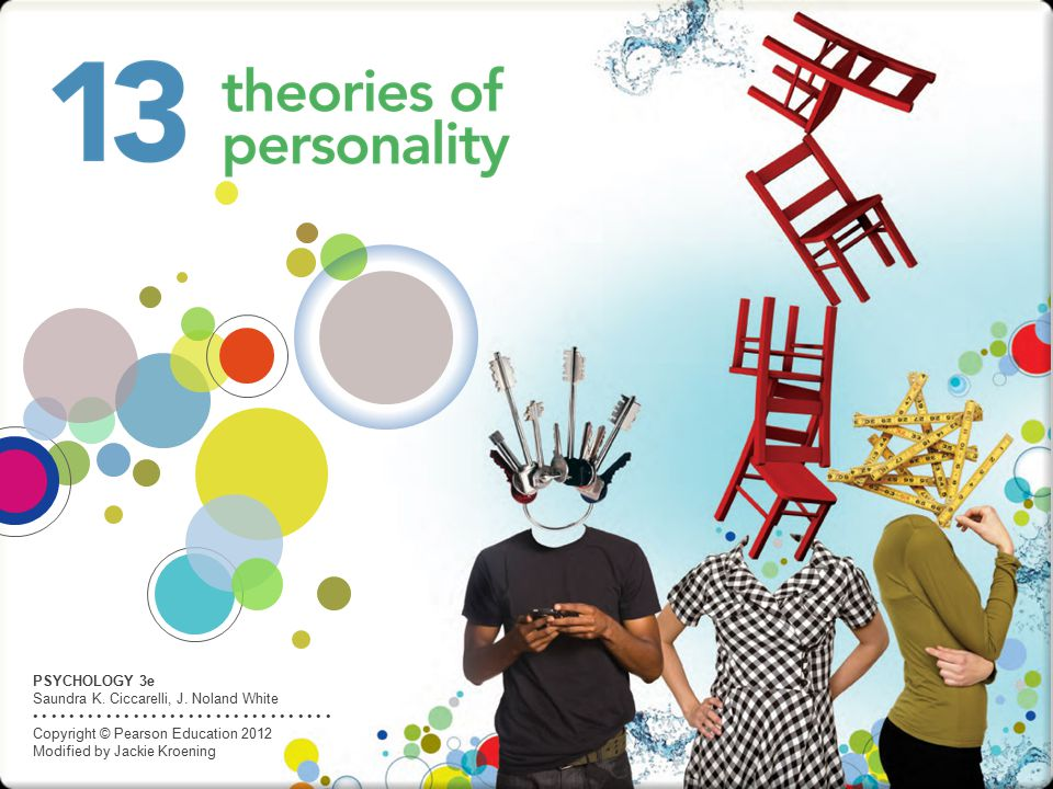 PSYCHOLOGY 3e Saundra K. Ciccarelli, J. Noland White Copyright © Pearson Education 2012 Modified by Jackie Kroening