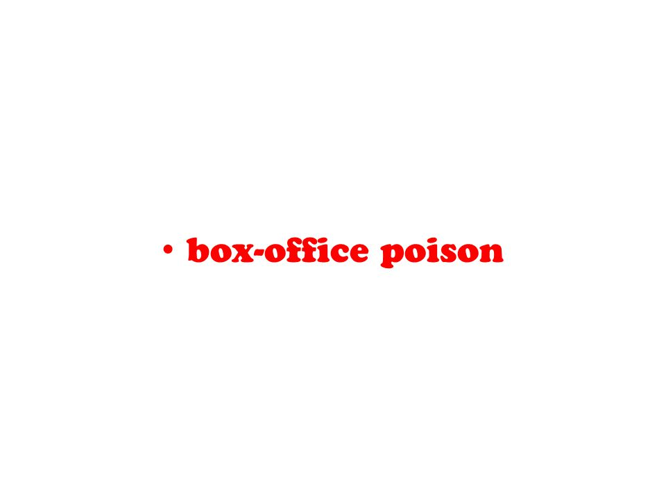 box-office poison
