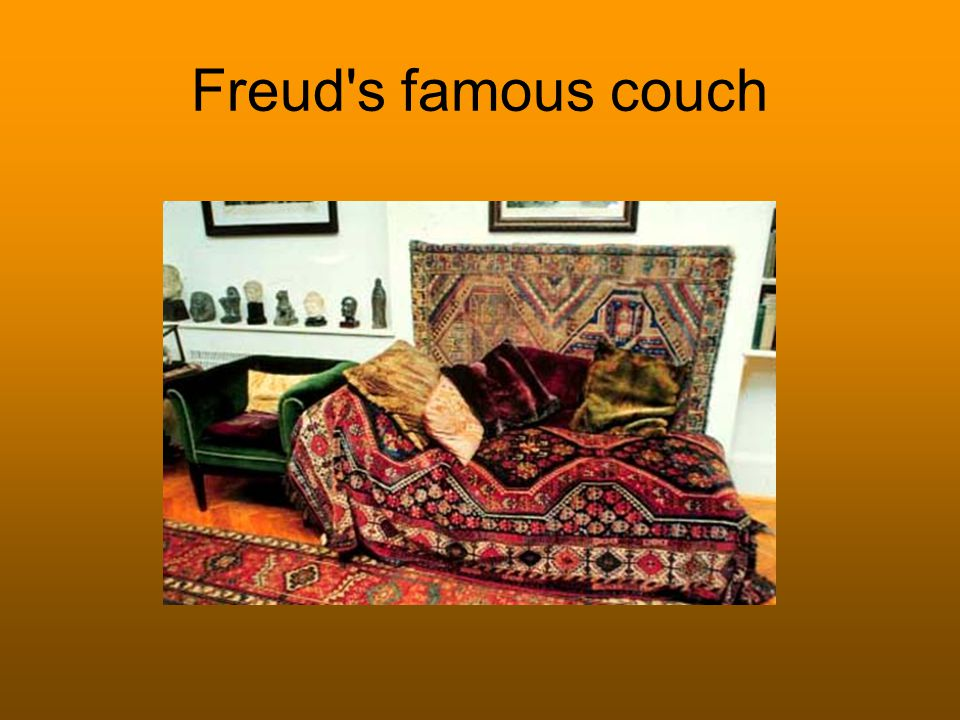 Freud s famous couch